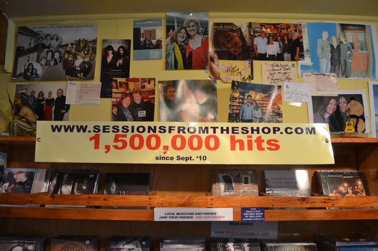 Sessions from the Shop. Free podcasts featuring musicians from near and afar.  www.dinglerecordshop.com