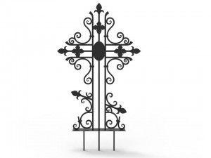 Кованные кресты на могилу: цены, фото. - «Гефест-ПРО».