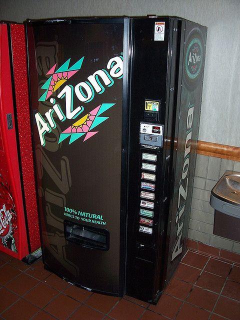Arizona Tea Vending Machine by The Upstairs Room, via Flickr