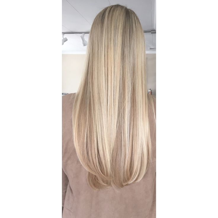 Long blonde hair mermaid hair highlights foilage Framar Davines Unite Haircare Eurotherapy @nataliesoloteshair on Instagram for more rose gold beige blonde bright icy pops beautiful dimensional dimension  Buffalo NY East Amherst Color Specialist babylights baby fine