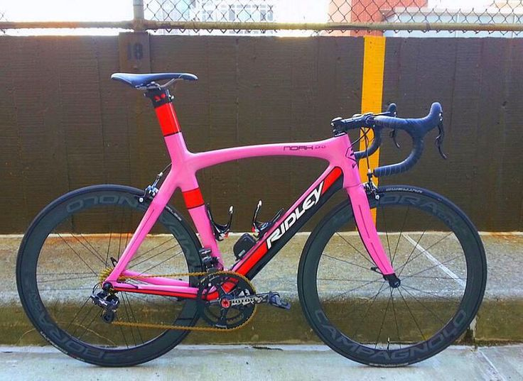 Pink Ridley Bikes Biciclette Fahrrader Velos Fietsen
