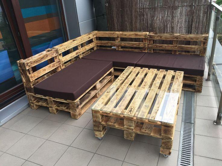 Narożnik z palet Meble Sofa Kanapa Zamównienie