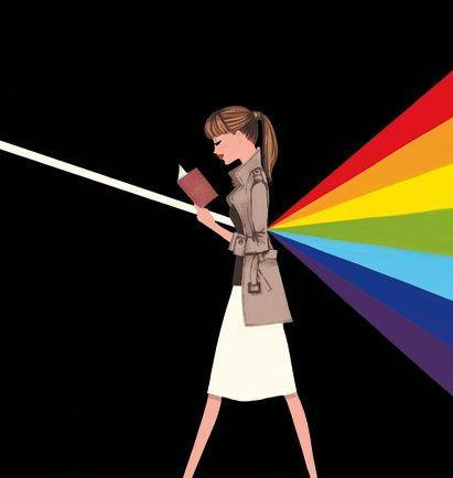 Colores tras la lectura (ilustración de Jordi Labanda)