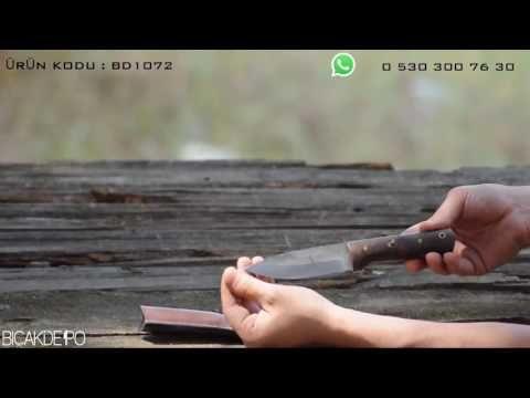 Tren Rayından Özel Tasarım Bıçak - YouTube