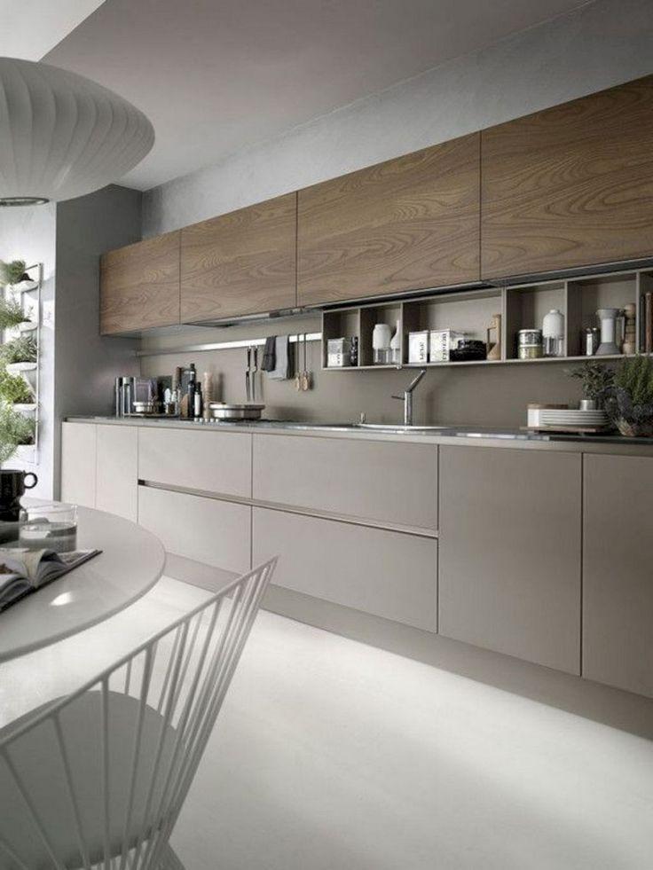 groß 57 Erstaunliche zeitgenössische Küchenschränke gestalten Ideen um