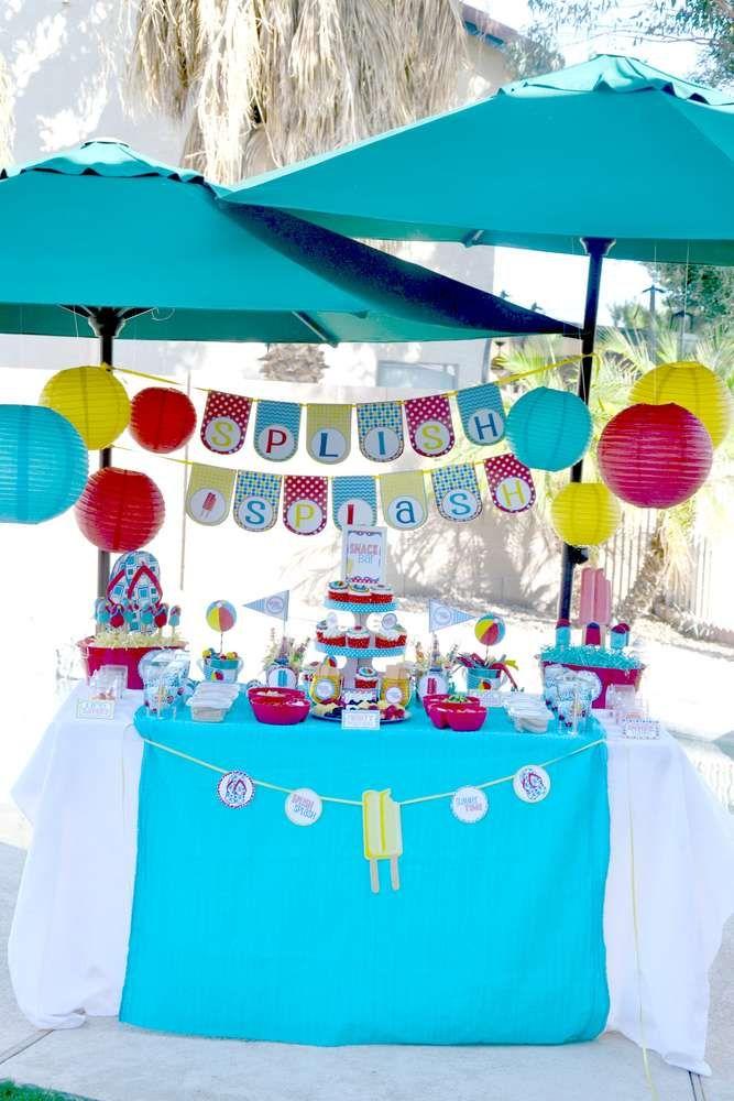 Mejores 16 im genes de pool party invitations en pinterest for Ideas para cumpleanos en piscina