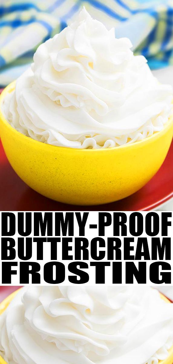 Pin On Icing Frosting Buttercream Recipes