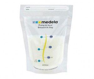 Medela Пакеты одноразовые для грудного молока 20 шт.