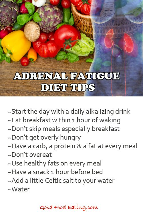 Adrenal health diet