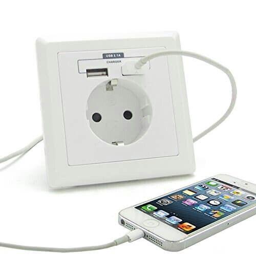 Unsere lieben Gäste freuen sich bestimmt auch über eine (frei zugängliche) Möglichkeit ihre Geräte laden zu können...