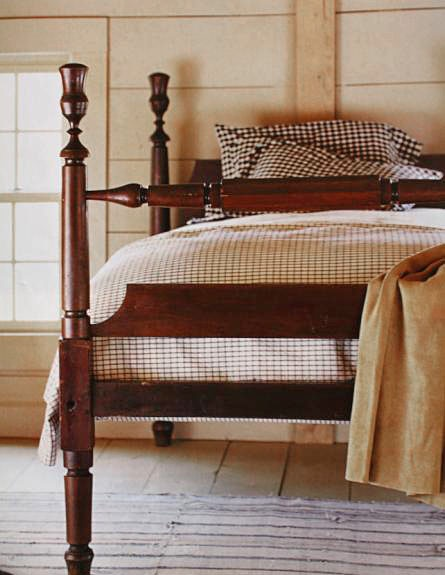 Pin by susan abbott mckenna on colonial life pinterest for Nice bed frames