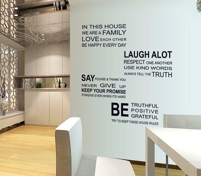 Removível inglês pintura adesivos alfabeto sofá quarto fundo adesivos de parede em Papéis de parede de Casa & jardim no AliExpress.com | Alibaba Group