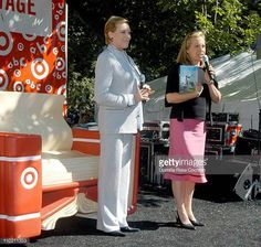 Julie Andrews and Emma Walton Hamilton during Julie Andrews and Emma Walton Hamilton at New York Is Book Country Book Festival at Washington Square...