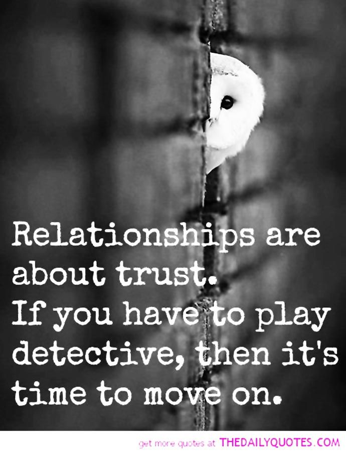 relationship trust quotes - Google Search