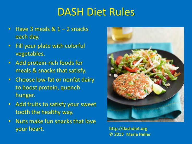 dash diet menu for weight loss