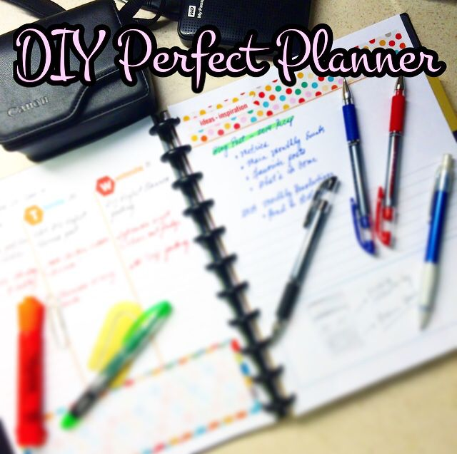 Sometimes a Perfect Planner means more customization. I actually prefer this type because I want to add Blogging, Project Management, Creative & Brainstorming pages to my planner. See my newest Stylish+Geek post on the DO IT YOURSELF PERFECT PLANNER and see my resource of FREE PLANNER PRINTABLES! Get ready for the New Year! http://stylishgeekblog.com/home/2014/12/diy-perfect-planner/