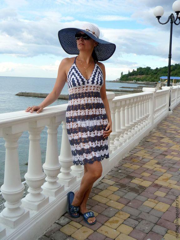 e0d8658774c40 Пляжные платья ручной работы. Заказать Сарафан