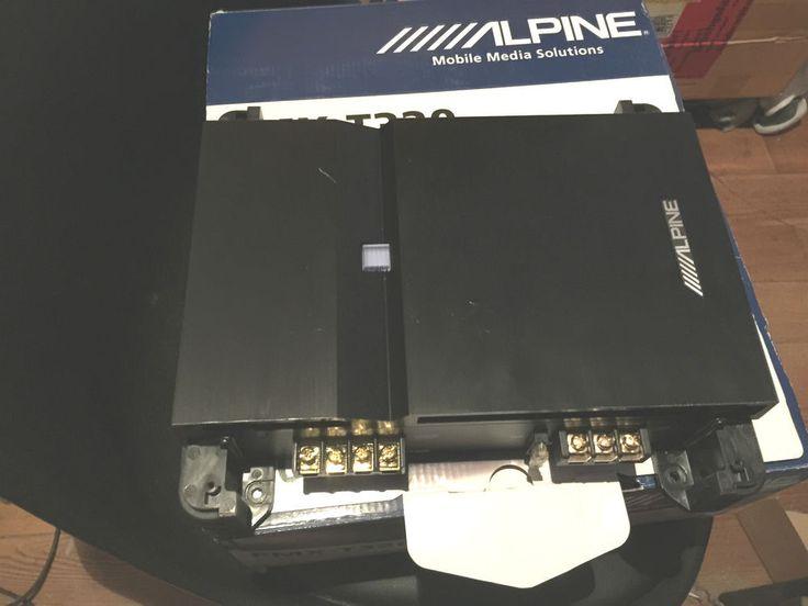 Je vends Ampli ALPINE PMX T320 2 Canaux 2x50 Watts RMS,  faite moi une offre