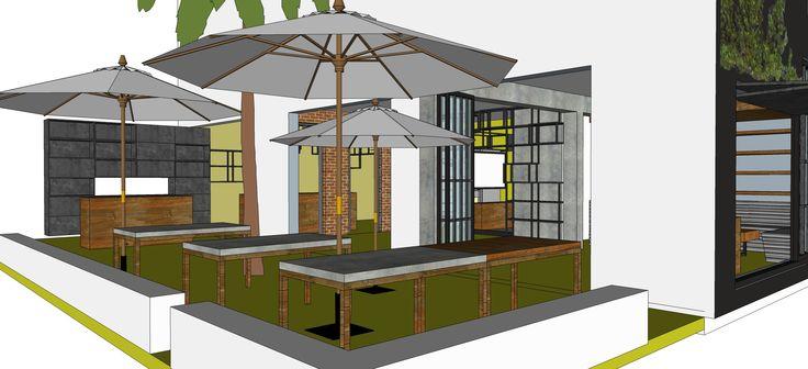Here is our 3D design.. Lo abriremos próximamente Circular 2 No 68-123, San Joaquin (una cuadra de la 70 y UPB) We are opening soon... Watch this space #BARrioCentral #Cafe #Bar #Pub #SanJoaquin #Laureles #La70 #Medellin #Colombia