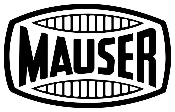The classic logo of the Mauserwerke in Oberndorf-am-Neckar, Germany
