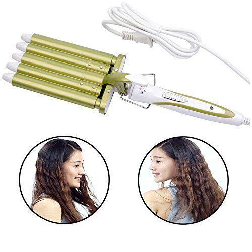 http://picxania.com/wp-content/uploads/2017/09/hoyofo-5-barrels-curling-iron-for-long-hair-ceramic-hair-waver-curler.jpg - http://picxania.com/hoyofo-5-barrels-curling-iron-for-long-hair-ceramic-hair-waver-curler/ - HOYOFO 5 Barrels Curling Iron for Long Hair Ceramic Hair Waver Curler -   Price:    Specification:3 gear temperature settings: 160℃,190℃,220℃Thermal Conductor Diameter: Approx. 16mmUS PlugUsage of different hairs:Harden Hair: Choose 190-220℃ temperature, p