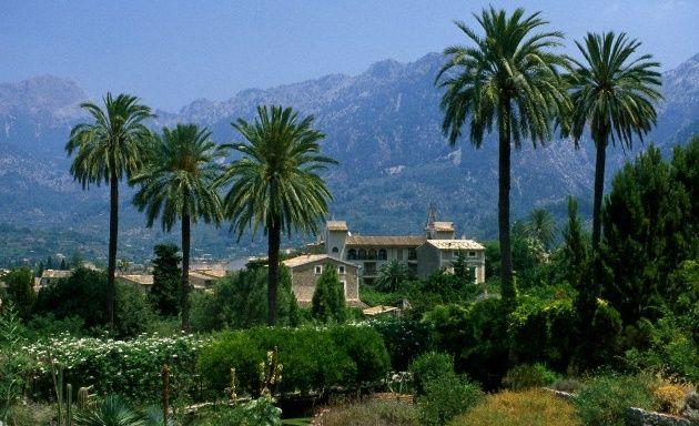 Jardín Botánico de Sóller, donde se representan la flora autóctona de otras islas mediterráneas. Mallorca.