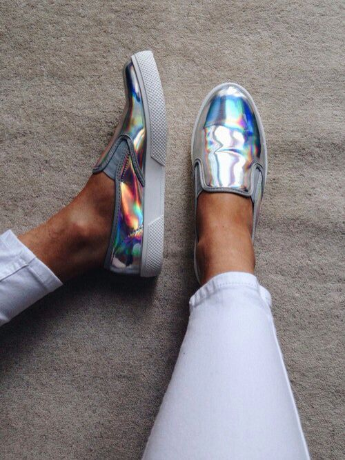Chrome shoes
