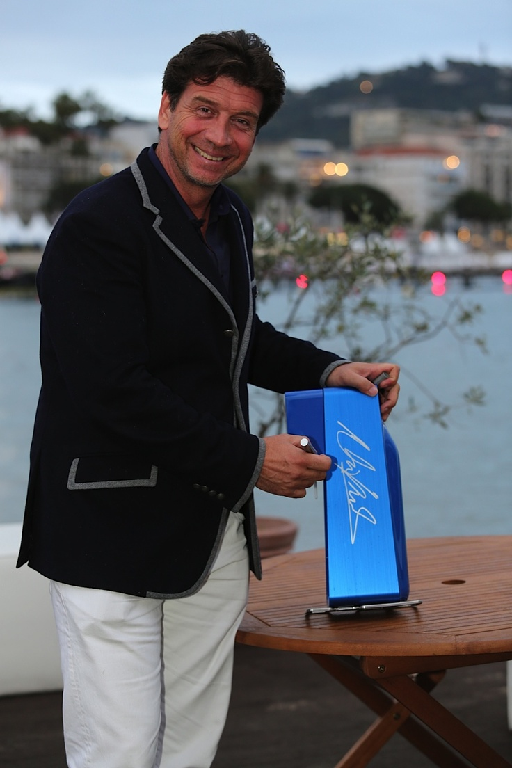 Nick Knowles! #SodaStream #Cannes2013