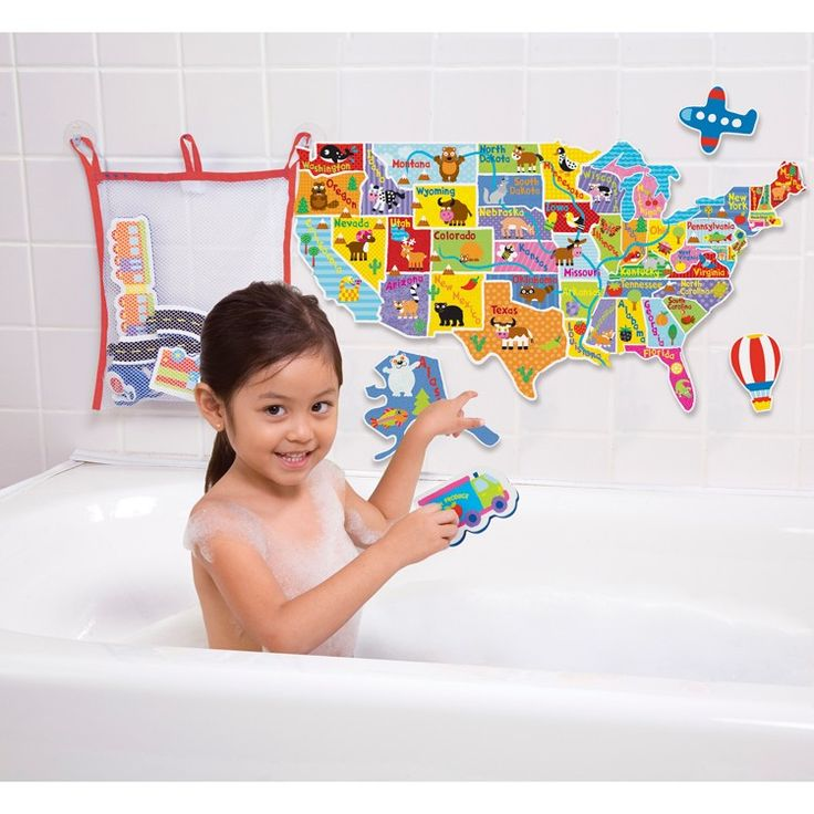 Enjoy Learning Us Map Puzzle%0A Use your bath soaking time wisely  learning US geography  with the new  Alex Toys u     USA Map bathtub puzzle  Manufactured by Alex Toys