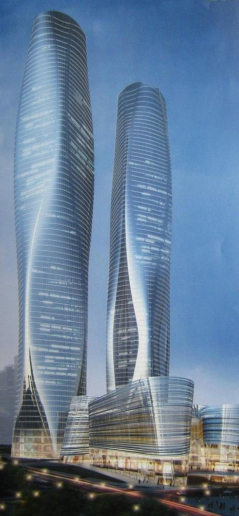 KSK || LUXURY Connoisseur || Nanning Center, Naning, China :: proposal #building #architecture #modern
