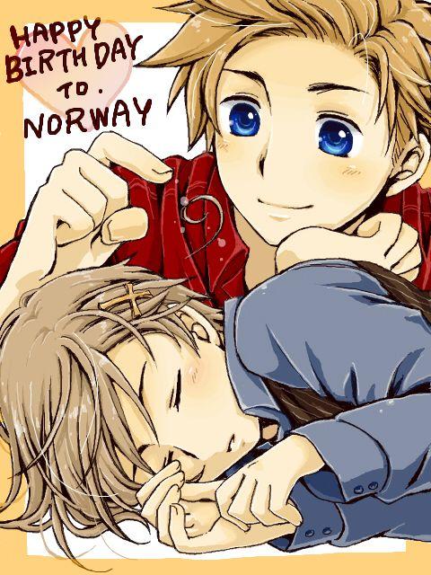 Hetalia - Denmark x Norway (DenNor)