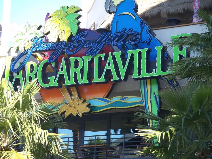 Margaritaville - great eats right across from Caesars Palace on the las vegas strip