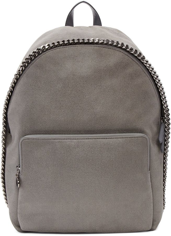 Stella McCartney Grey Falabella Backpack