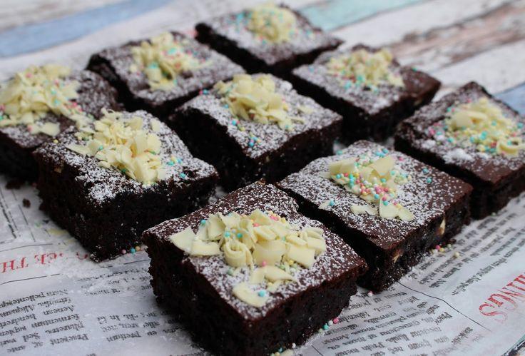 Ranteita myöjen taikinasa: Kahden suklaan brownies