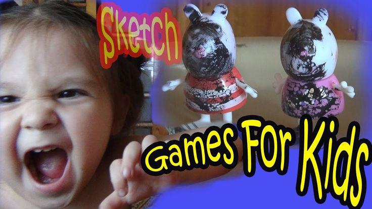 Games For Kids Peppa Pig Sketch Funny Jokes