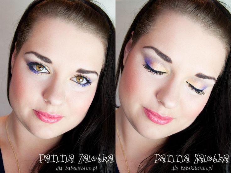 kolorowy jesienny makijaż - colorful fall makeup