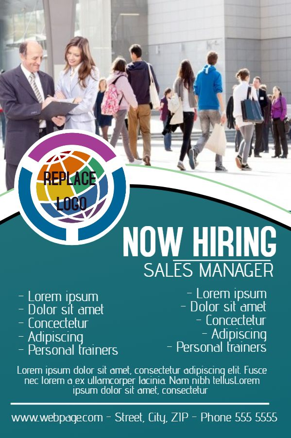 Best Hiring Flyer Designs Images On   Flyer Design