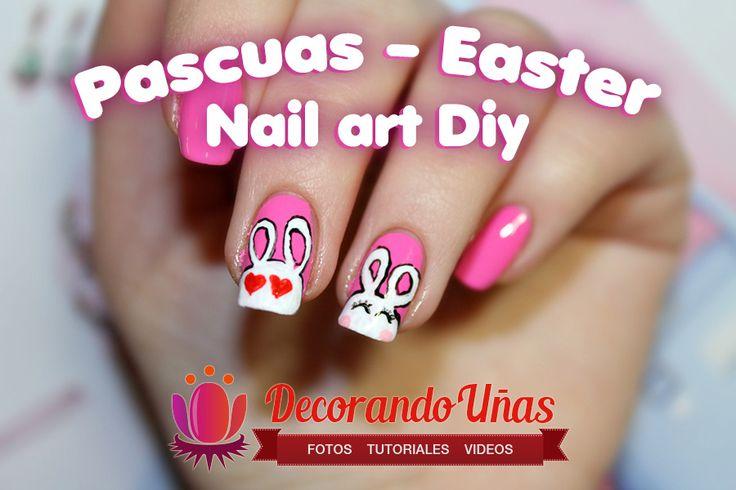 17 best images about easter nails u as de pascua on for Decoracion de pascua
