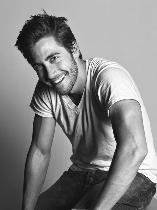 Jake Gyllenhaal by Mark Abrahams.                                                                                                                                                                                 More