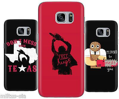 Texas Chainsaw Funny Movie Cover Case fits Samsung Galaxy s5 s6 edge s7 j7 j5 j3