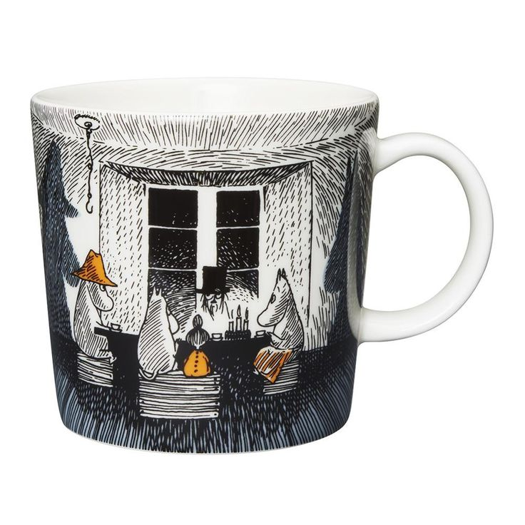 Moomin mug #83 True to it's Origins