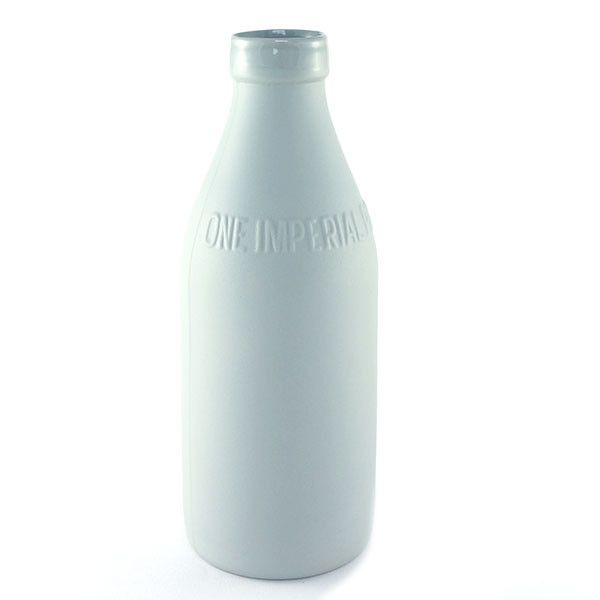 Urban Cartel light grey ceramic vase from Between Dog and Wolf