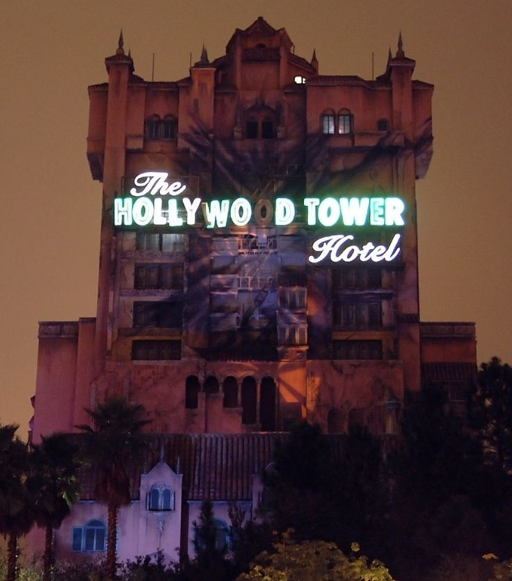 I know this is the one in Walt Disney World, but R.I.P. the Hollywood Tower Hotel in Disneyland, California