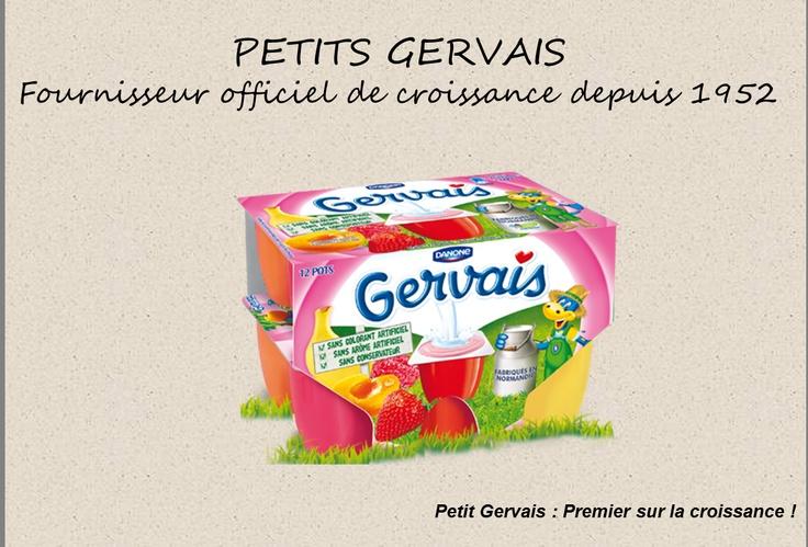 Petits Gervais : Fournisseur Officiel de Croissance depuis 1952    #MarketDeCrise  MarketingDeCrise.Tumblr.Com