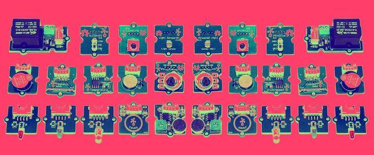 grove modular electronics system seeedstudio UK