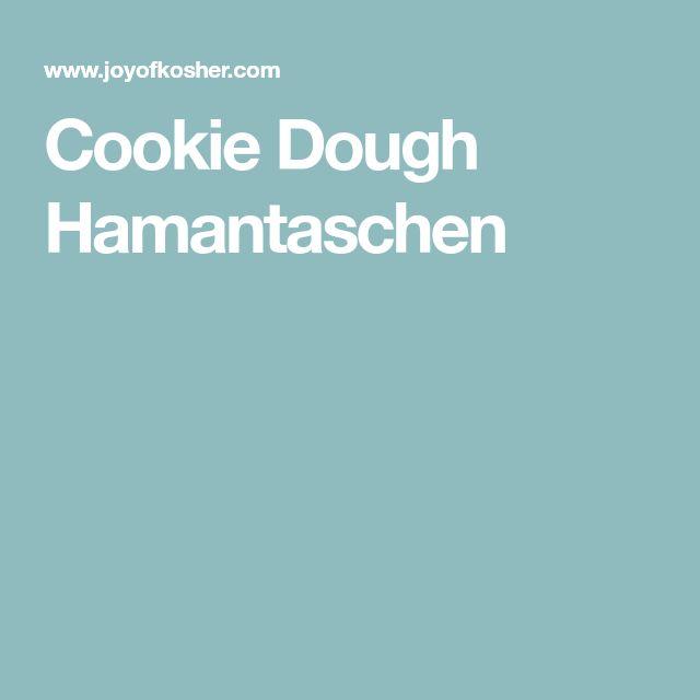 Cookie Dough Hamantaschen