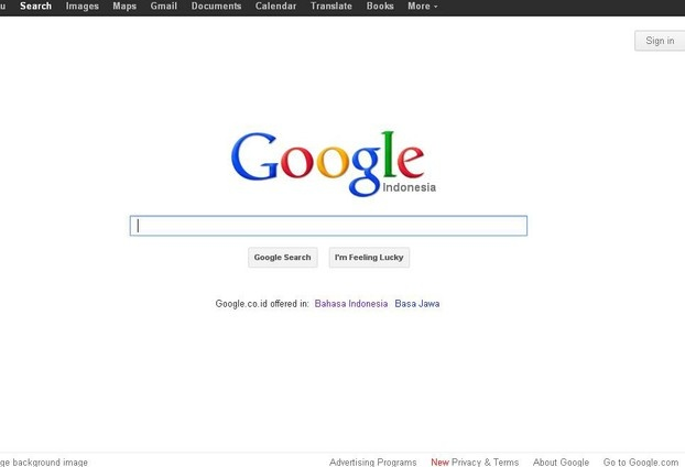 Google Indonesia in English
