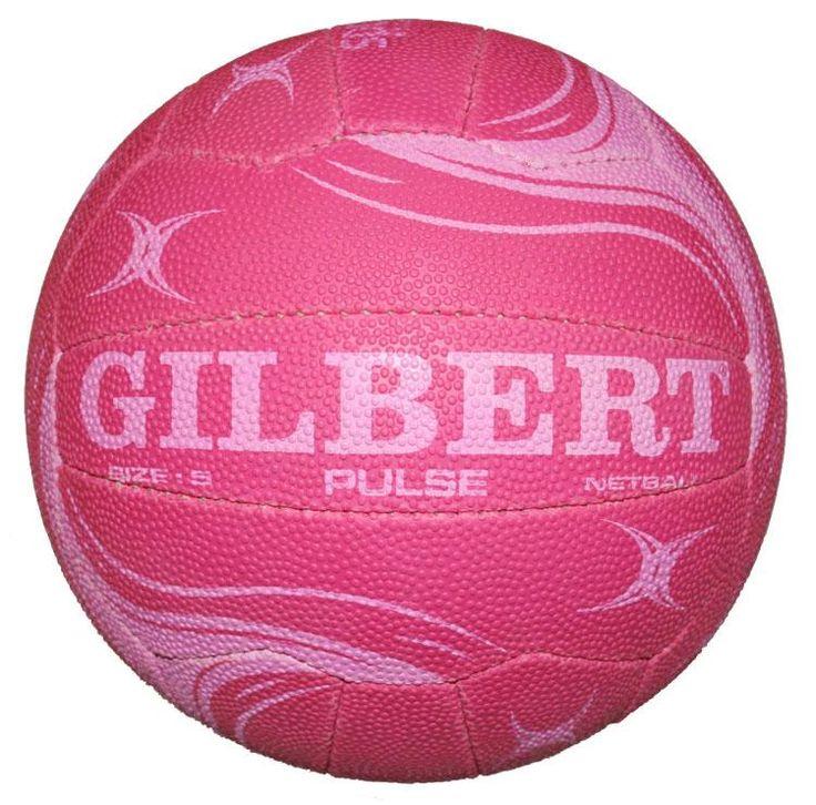Pink+Stuff+Store | Gilbert Pulse netball - pink