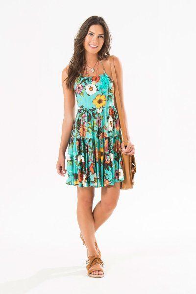 vestido marias floral giulia