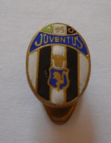 calcio distintivo spilla Juventus 1950 old pin football badge